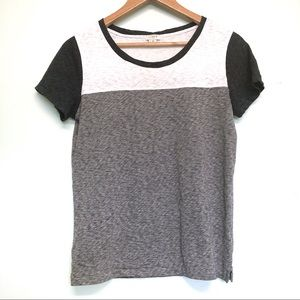 J. Crew Colorblock T-shirt